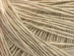 Baby alpaka merino bavlna - krémová