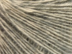 Baby alpaka merino bavlna - šedá