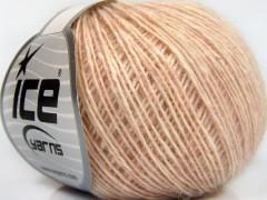 Baby alpaka merino bavlna - světle růžová