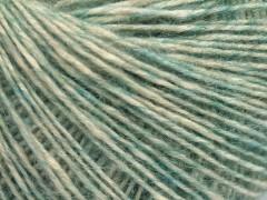 Baby alpaka merino bavlna - světle zelená