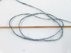 Baby alpaka merino bavlna - tmavá modrozelená