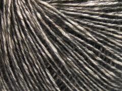 Baby alpaka merino bavlna - tmavě hnědá