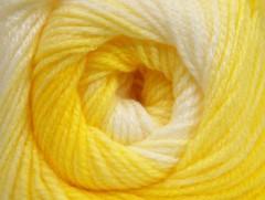 Baby batik - žlutobílé odstíny