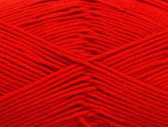 Baby bavlna 1 - červená