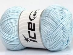 Baby bavlna 1 - světle modrá