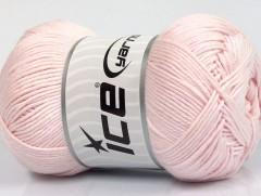 Baby bavlna 1 - světle růžová
