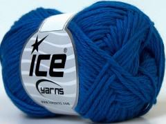 Baby bavlna - modrá