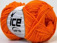 Baby bavlna - oranžová