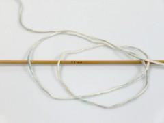 Baby bavlna print - béžovošedomodrotyrkys