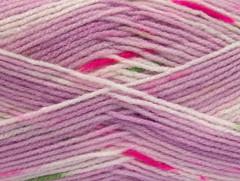 Baby design - fialovorůžovozelená