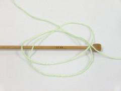 Baby design - zelenobílotyrkysová