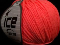 Baby letní  DK - neonově oranžová 1