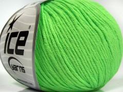 Baby letní  DK - neonově zelená