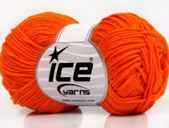 Baby letní  DK - tmavě oranžová