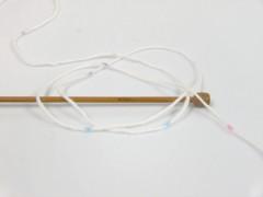 Baby Lollipop - bílofialovorůžovotyrkysová