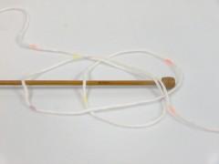 Baby Lollipop - bílooranžovofialovožlutá