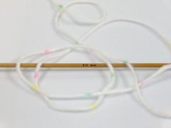 Baby Lollipop - krémovožlutorůžovozelená