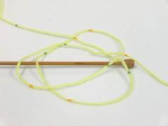 Baby Lollipop - zelenozlatozelená