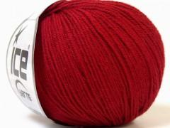 Baby Merino - tmavě červená