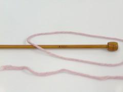 Baby modal - pudrově růžová