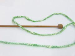 Bavlna pastel - zelenožlutokrémová