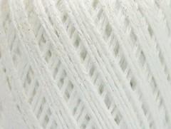 Bavlna Stella - bílo lesklá