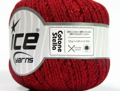 Bavlna Stella - červená