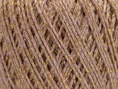 Bavlna Stella - pudrovorůžovozlatá
