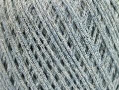 Bavlna Stella - světle modrobílostříbrná