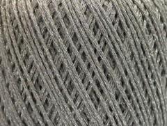 Bavlna Stella - světle šedostříbrná