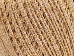Bavlna Stella - tmavě krémovozlatá