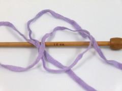 Bavlna tape color - fialovobílozlatá