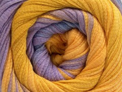 Bavlna tape color - fialovozlatá