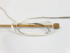 Bavlna tape color - khakikrémovomátová