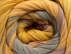 Bavlna tape color - růžovozlatokhaki