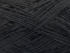 Bavlna žinilka fajn - černá