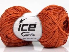 Bavlna žinilka fajn - oranžová