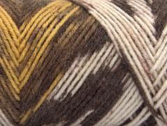 Bonito Ethnic - hnědožlutékrémové odstíny