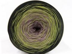 Cakes bavlna fajn - černozelenovelbloudí