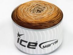 Cakes bavlna fajn - hnědobéžové odstíny