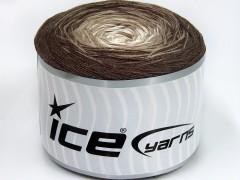 Cakes bavlna fajn - hnědovelbloudíkrémová