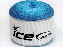 Cakes bavlna fajn - modré odstíny 1