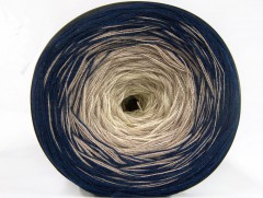 Cakes bavlna fajn - námořnickábéžovokrémová