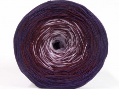 Cakes bavlna fajn - purpurovokaštanovofialová