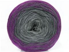 Cakes bavlna fajn - purpurovošedo odstíny