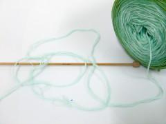 Cakes bavlna fajn - zelené odstíny