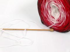 Cakes bavlna fajn - zelenočervenobílá