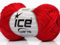 Camilla bavlna - červená