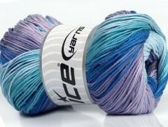 Camilla bavlna magic - modrofialové odstíny