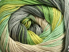 Camilla bavlna magic - zelenošedobéžová